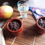 Crumble poires-chocolat