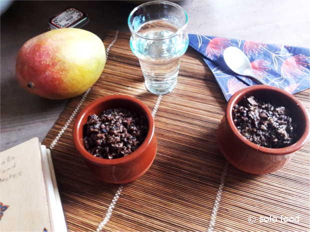 Crumble aux poires et chocolat - solo food