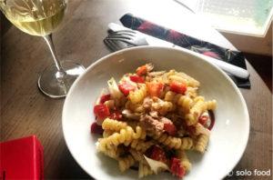 salade de pâtes au thon, romarin - solo food