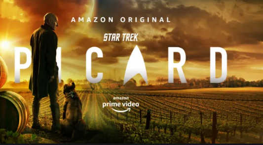 Jean-Luc Picard on Amazon Prime Video - solo food