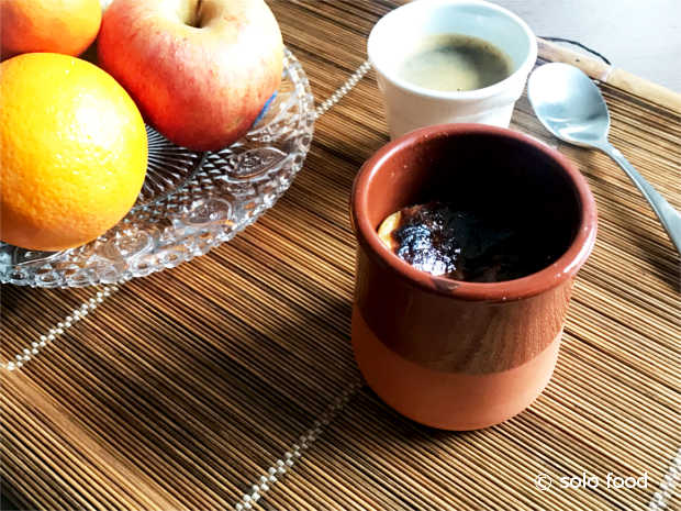 Flan léger - Trois arômes - solo food