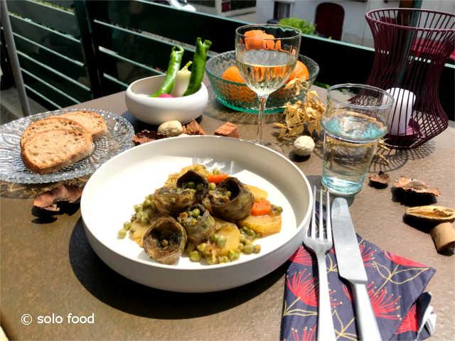 artichauts à la polita - solo food
