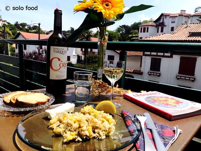 risotto aux poireaux à la grecque -prassorizo