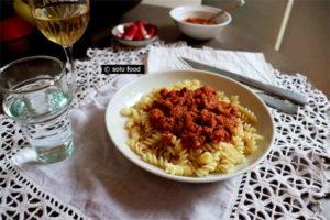 sauce thon, tomate et romarin -solo food
