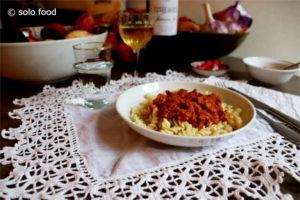 sauce thon, tomate, romarin