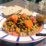 Petits pois à la sauce tomate et aneth (arakas)