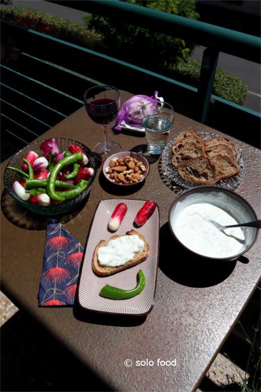 tzatziki à la française - solo food