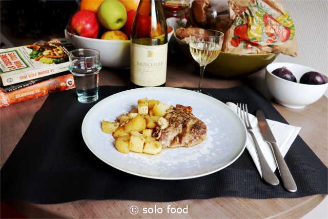 rôti de porc à la worcester sauce et au miel