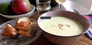 soupe au brocoli et gorgonzol