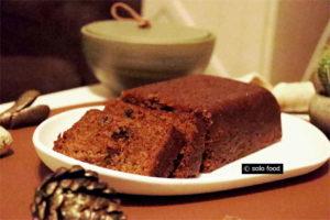 cake au beurre noisette, thé et miel