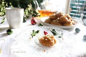Gâteaux grecs de Noël au miel et aux épices - amelomakarona