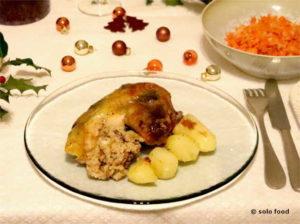 pommes de terre à la mandarine de Noël