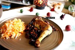 poulet à la sauge et aux épices