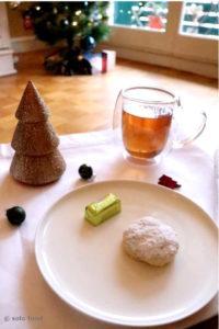 Sablés grecs de Noël et de Nouvel An (kourabiedes)
