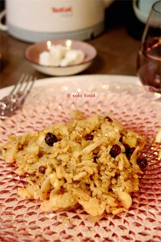 risotto au chou - solo food
