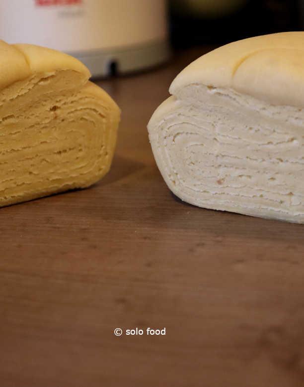 pâte danoise - couches successives
