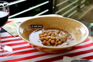 pois chiches en soupe