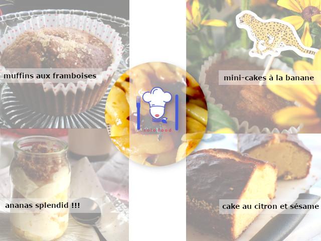 Mes péchés mignons sucrés légers - privilégier les fruits