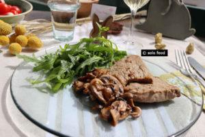 escalope de veau à la crème et aux champignons