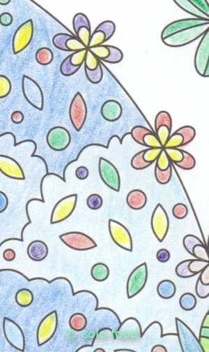 mandalas #9 - biche - détail