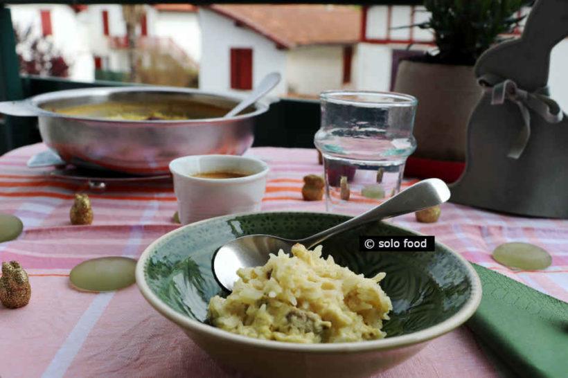 pudding au riz et aux épices douces - home
