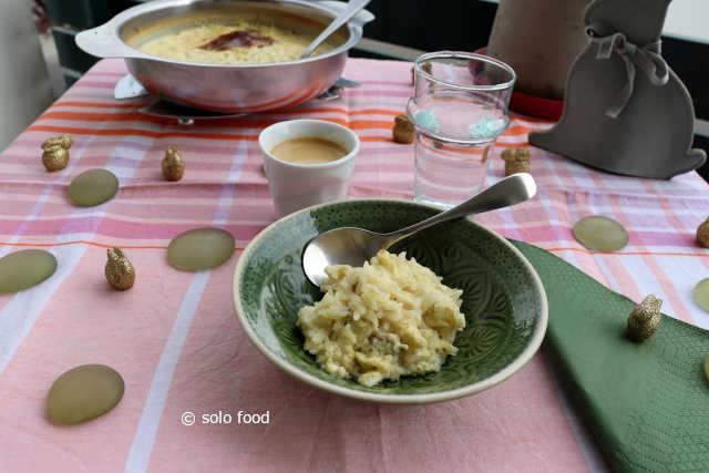 pudding au riz et aux épices douces
