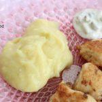 Purée de pommes de terre à l'ail (skordalia)