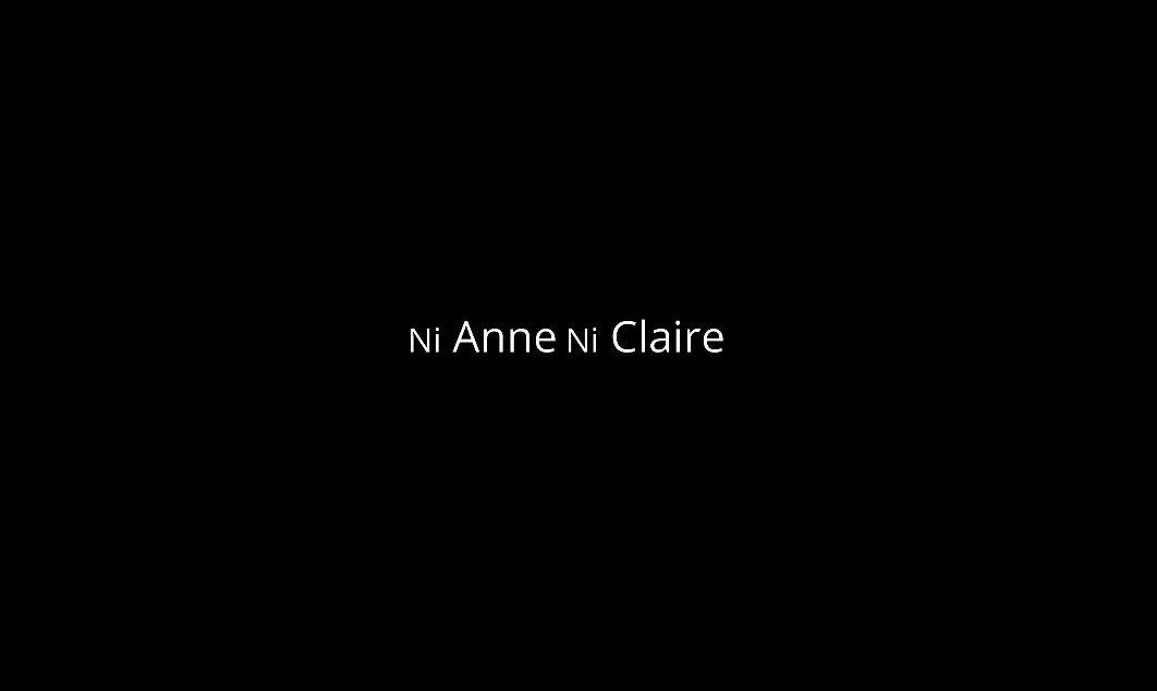 ni Anne ni Claire