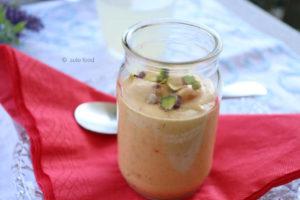 crème abricots et pistaches