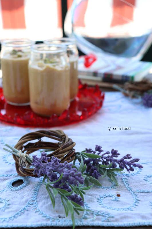 crème aux abrictos et pistaches