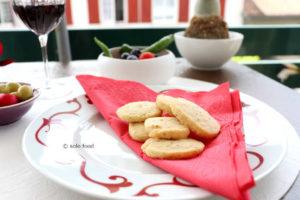 sablés au parmesan et thym
