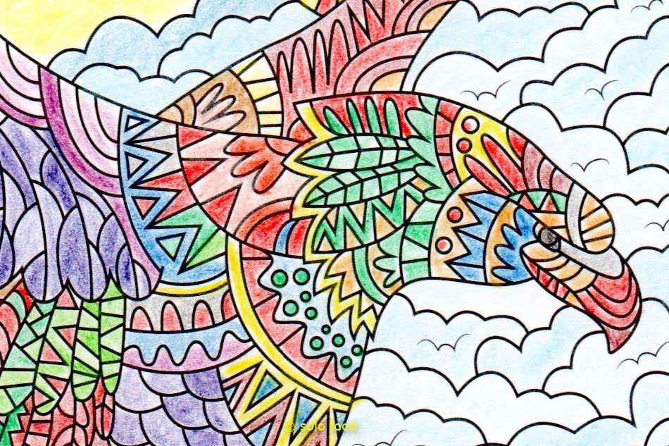 collection - mandalas - aigle