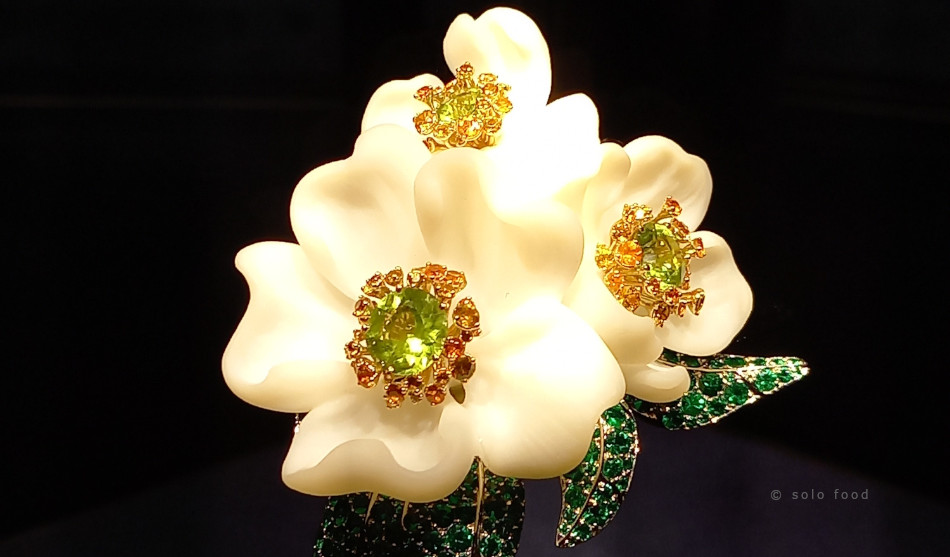 florae - exposition pour Van Cleefs & Arpels